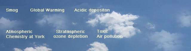atmospheric chemistry banner