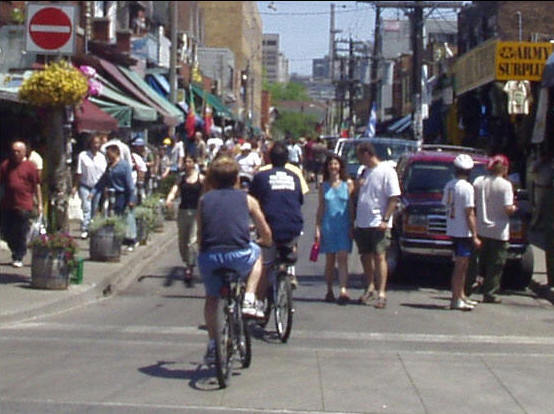 A View of Kensington Market